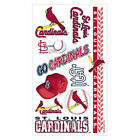 ST LOUIS CARDINALS TEMPORARY TATTOOS GAME TAILGATE PARTY FACE BODY MLB BASEBALL