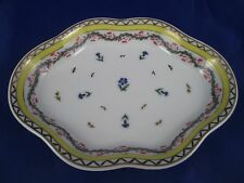 Mount Vernon RIBBONS AND CORNFLOWER Porcelain Dish Andrea by Sadek EXCELLENT!