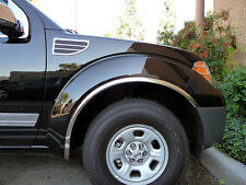 For: NISSAN FRONTIER; FTNS201 Stainless Steel Fender Trim 2005-2015