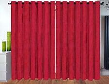 Eyelet Ring Top Velvet Ready Made fully Lined Designer Curtains