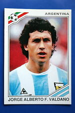 Panini WC MEXICO 86 STICKER N. 88 ARGENTINA VALDANO WITH BACK VERY GOOD/MINT