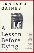 Vintage Contemporaries: A Lesson Before Dying by Ernest J. Gaines (1997, Paperba