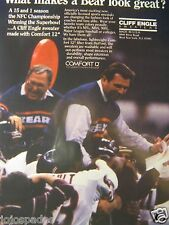 1986 Cliff Engle Ad-Chicago Bears-Mike Ditka-Buddy Ryan-Super Bowl Champions