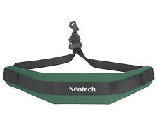 NEOTECH SOFT SAX STRAP, FOREST GREEN, COMFORTABLE SAX SLING, UK POST FREE
