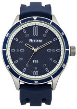 FIRETRAP Mens FT2003BL Blue Dial Watch - Gift Boxed