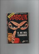 Diabolik : il re del terrore   A. XII  N° 6   ristampa n°1