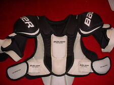 BAUER HOCKEY SHOULDER BICEP ARCH SPINE TOTAL LITE WEIGHT PROTECTION GEAR