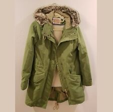 Levi Strauss Womens Green Winter Parka Jacket