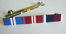 GOLDEN JUBILEE + DIAMOND JUBILEE + RAF LONG SERVICE MEDAL RIBBON BAR