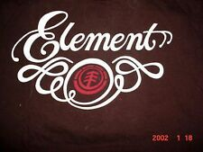 Mens T SHIRT skate board dc shoes Element bam-M-Med