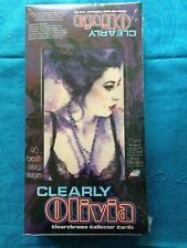 Clearly Olivia Clearchrome Trading Cards Box - Factory sealed - Comic Images