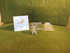 """Kongo 2004,Erste Glasmünzenserie der Welt,10 Francs,""""Wiedehopf"""",BU,OVP!"""