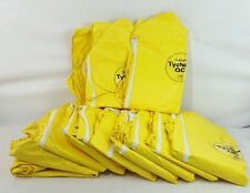 Dupont Tychem Tyvek QC Suit 3XL Coverall with Hood Yellow 12 suits