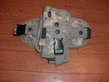 TACTICAL LEG HOLSTER ALL TERRAIN CAMOUFLAGE LARGE 9 MM FRAME AUTO'S ACU DIGITAL