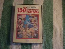 Ultimate 150 Cartoon Festival (DVD, 2007) 3-Disc Set     NEW