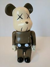 Be@rbrick 400% Mono Gray KAWS Plastic Action Figure, Used