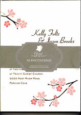 GREAT PAPERS WEDDING BLOSSOM BRANCHES INVITATION KIT 50 CT BOX,  YOU PRINT IT!!