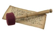 Baton Mailloche Maillet Feutre 23 cm pour bol chantant ou Gong-manche bois- 5826
