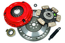 KUPP RACING STAGE 4 CLUTCH KIT+LIGHTWEIGHT FLYWHEEL 1986-95 FORD MUSTANG 5.0L GT