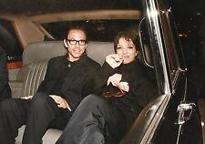 LIZA MINELLI & Friend Candid in Car Photo Portrait by Big Pictures 1980