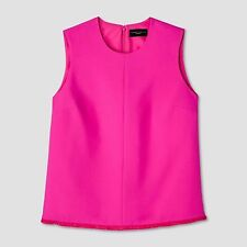 NWT New Victoria Beckham for Target Twill Tank Top Fuchsia S small