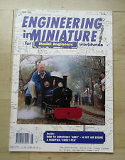 ENGINEERING IN MINIATURE MAY 1995 HOW TO CONSTRUCT 'ANDY' - A HOT AIR ENGINE