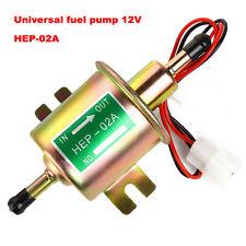 12V Fuel Pump Petrol Diesel Low Pressure Universal Inline Electric Pump HEP-02A