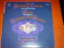 PACHELBEL CANON-FASCH-CONCERTO TRUMPET-RED SEAL-SINGLE