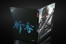 Metal Gear Rising Xbox 360 Render Steelbook Case + Commando Armour DLC *Neu*