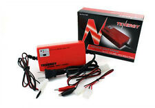 Tenergy Smart Universal Charger for NiMH/NiCD Battery Packs: 2.4V - 7.2V (Red)