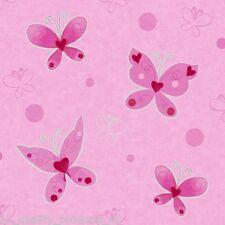 Debona - Wallpaper, Modern Butterfly, Pink Motif, Girls Kids home roll BNIB 8380
