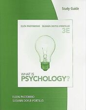 Study Guide for Pastorino/Doyle-Portillo's What is Psychology?, 3rd by Pastorin