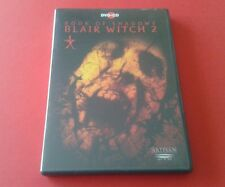Book of Shadows: Blair Witch 2 - R1 DVD and CD Soundtrack; Godhead (Quick Post)