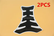2X 3D Gas Fuel Tank Pad Sticker For Suzuki M109R M50 M90 M95 C109R C50 C90