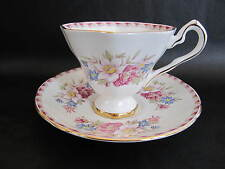 """ROYAL STAFFORD ENG CHINA  TEA CUP& SAUCER """"WINDERMERE""""  PRE OWN EXCELLENT COND"""