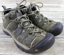 KEEN Mid Waterproof Brown Leather Hiking Boots MENS Shoe Sz 10 Keen.Dry vented