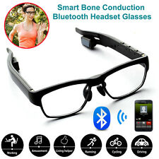 Wireless Stereo Bluetooth Headset Bone Conduction Glasses for iPhone 6s/Samsung