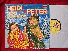 Heidi und Peter - Weisse Weihnachten    rare, prima Europa LP