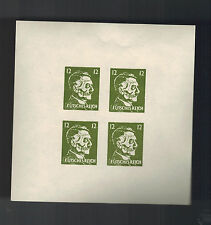 Germany OSS Propaganda Forgery Stamps MNH Hitler Skull Futsches Reich block Gren