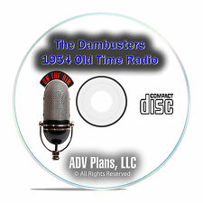 The Dambusters 1954 Old Time Radio OTR, Paul Brickhill, WW2 Drama MP3 CD E87
