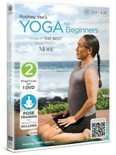 Rodney Yee's Yoga for Beginners, New, Free Shipping