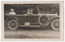 PHOTO ANCIENNE Automobile Voiture Auto Peugeot Renault Citroën ? Vers 1920