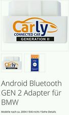 NEU CARLY Obd Android Adapter gen. 2 Bmw Mini und Mercedes-Benz ,Porsche