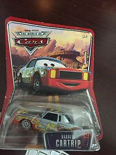 NEW Disney Pixar The World of Cars Darrell Cartrip #43 Diecast Toy Vehicle HTF