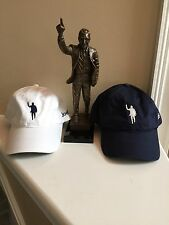 2 Joe Paterno Statue Image on Nike Hats 409 PENN STATE - WE ARE - Navy AND White