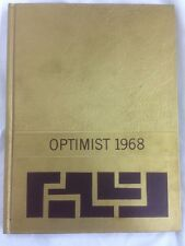 1968 Optimist Central high school card yearbook history geneology Crookston MN