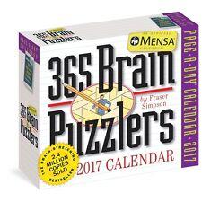 Mensa 365 Brain Puzzlers Desk Calendar