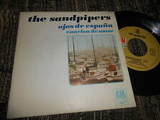 "THE SANDPIPERS Ojos de España/Cancion de amor 7"" 1968 SPAIN SPANISH edition"