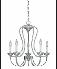 Savoy House 1-4611-5-69 Calzado 22 Inch Single Tier Chandelier in Pewter