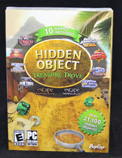 Hidden Object Collection: Treasure Trove Volume 2 PC New in Box 10 FULL GAMES!